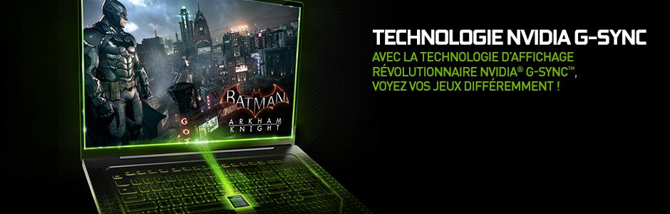 NVIDIA G-SYNC - Technologie d'affichage pour moniteurs de jeu PC