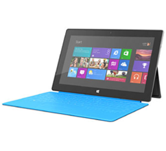 Microsoft Surface avec Windows RT