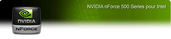 NVIDIA nForce 500 Series pour Intel