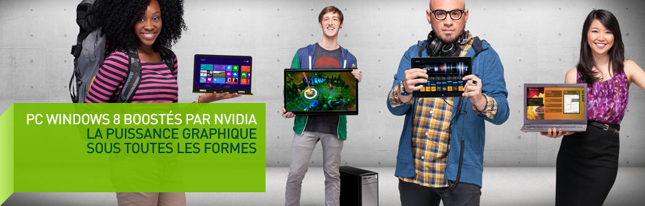Tablettes Windows RT boostées par NVIDIA® Tegra®