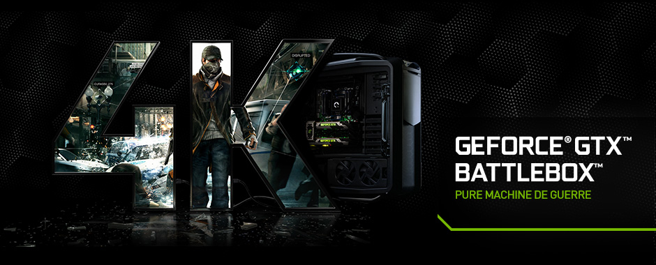 PC de jeu GeForce GTX BattleBox