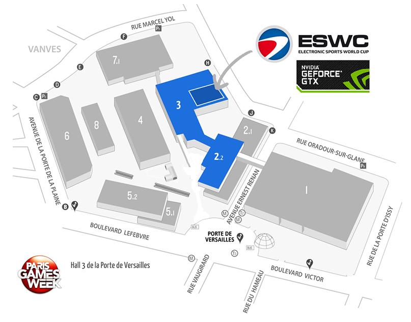 Nvidia au paris games week nvidia - Parc des expositions de la porte de versailles ...