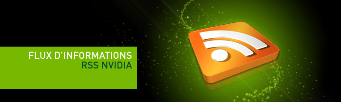 Flux d'informations RSS NVIDIA