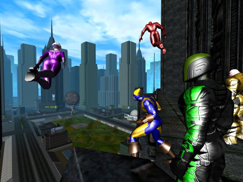 Jeux City Of Heroes Nvidia