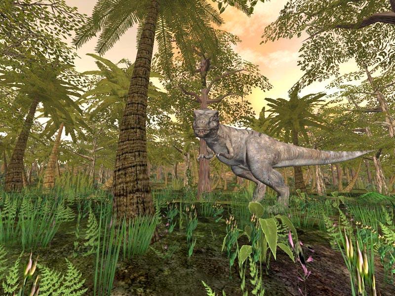 Games X Isle Dinosaur Nvidia
